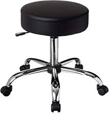Boss <b>Office</b> Products Be Well Medical Spa <b>Stool</b> in <b>Black</b>