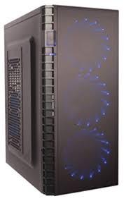 Компьютерный <b>корпус ExeGate EVO-7216</b> w/o PSU Black ...