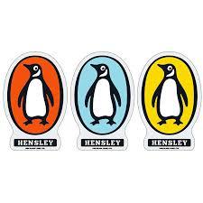 "Black Label Matt Hensley Chilly Bird Sticker - <b>3.75</b>""x2.<b>5</b>"" Assorted ..."