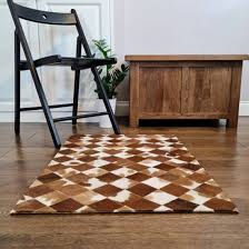 Goatskin <b>Rug</b>, Soft fur Animal Skin 100% <b>Genuine Leather rug</b> ...