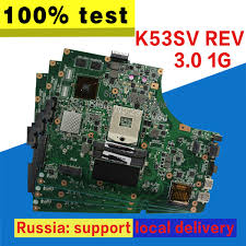 2019 <b>K53SV Motherboard</b> REV 3.0 1GB GT520M For ASUS <b>K53SV</b> ...