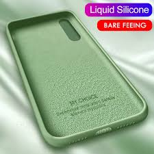 <b>Soft Liquid Silicone Phone</b> Case For Xiaomi Redmi Note 8 7 6 5 8T ...