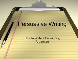 th grade writing strategies class persuasive writing