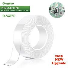 <b>2019 New</b> Double Sided Adhesive Tape, Gentee <b>Washable</b>
