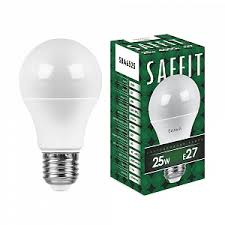 25w/<b>E27</b> 4000K 230V SBA6525 <b>A65 лампа</b> светодиодная <b>Saffit</b> ...