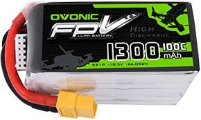 Ovonic 1300mAh 18.5V 5S 100C Lipo Battery Pack ... - Amazon.com