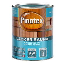 <b>Лак</b> для бани и <b>сауны Pinotex Lacker</b> Sauna 5254107 ...
