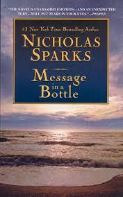message in a bottle novel summary message in a bottle