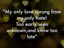 love quotes from romeo and juliet sparknotes valentine day romeo quotes