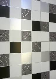 black kitchen wallpaper debona dotty wallpaper kitchen bathroom black silver tile effect washa