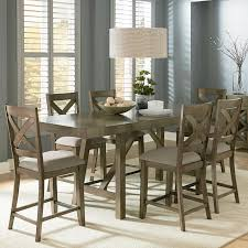 Tall Dining Room Table Chairs Stylish 7 Piece Counter Height Dining Room Sets High Dining Table