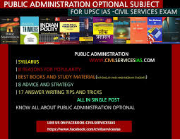 all about public administration optional subject for ias  all about public administration optional subject for ias best books for public administration strategy