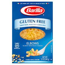 barilla pasta elbows gluten oz com