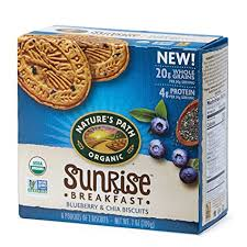 Nature's Path Organic Sunrise Breakfast Biscuits ... - Amazon.com