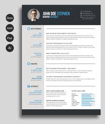 resume template 9 best templates for freshers resume template msword resume and cv template design resources for 85 cool ms