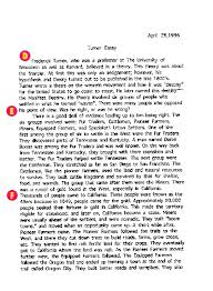 work sample amp commentary turner essay click to enlarge