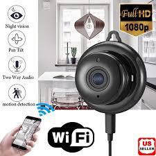 Wireless Mini WIFI <b>IP Camera HD 1080P</b> Night Vision Smart Home ...