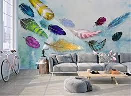3D Wall <b>Murals</b> Decorations Stickers Wallpaper American <b>Colored</b> ...