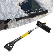 Car Snow Ice Scrapers Foam Handle Snow Shovel <b>Mini Plastic</b> ...