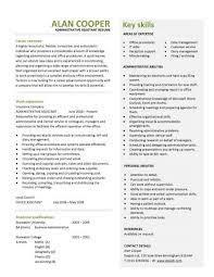 cv for administrator dubai resume writing fund administrator resume