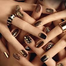 manicure karnawałowy