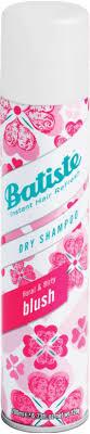 <b>Blush</b> Fragrance <b>Dry Shampoo</b> | <b>Batiste Blush Dry Shampoo</b>