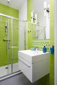 bathroom idea lime green