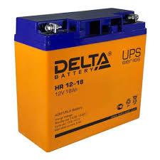 Аккумуляторная <b>батарея</b> для ИБП <b>Delta HR 12-18</b> — купить в ...