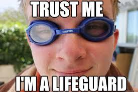 Lifeguard memes | quickmeme via Relatably.com