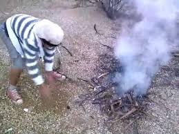 Resultado de imagen para indio señales de humo