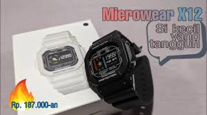 <b>Smartwatch</b> MURAH: Microwear <b>X12</b> Unboxing and Review ...