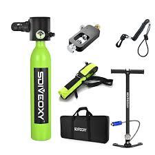 <b>SDIVEOXY</b> scuba diving oxygen tank portable diving equipment ...