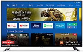 <b>Mi TV</b> 4X 125.7 cm 4K Ultra HD Android LED <b>TV</b>: Amazon.in ...
