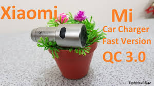 Xiaomi Mi <b>Car Charger</b> QC 3.0 Fast Charge Version Unboxing And ...
