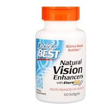 Doctor's Best, <b>Natural Vision Enhancers</b>, with FloraGlo Lutein, 60 ...