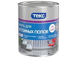 <b>Эмаль</b> Профи ТЕКС для <b>бетонных полов</b> серая 0,9 л купить по ...