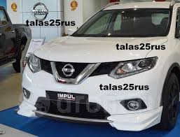 <b>Накладки на бампера</b>, <b>Обвес</b> Impul для Nissan X-Trail 32 HNT32 ...