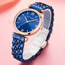 MINIFOCUS Модно Случайные Женские Часы <b>Кристалл</b> ...