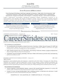 event planner resume example cipanewsletter cover letter event manager resume sample sample resume for event