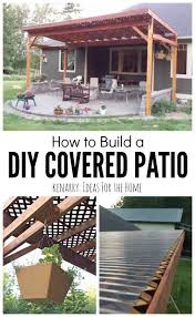 build freestanding patio