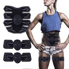 Abdominal Muscle <b>Slimming Patch</b> Trainer Fat Burning Ems ...