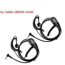 2pcs 1 pin g shape clip ear headset earpiece mic for motorola talkabout md200tpr mh230r mr350r ms350r mj270r