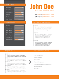 design haven   creative resume and cover letter template   a portrait    resume and cv template layout