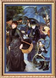 Image result for renoir the umbrellas