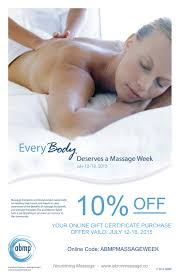 abmp massage week nourishing massage massage week poster copy