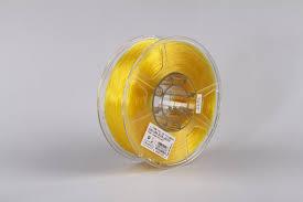 Катушка <b>PLA</b>-<b>пластика</b> ESUN 1.75 мм 1кг., <b>прозрачно</b>-<b>желтый</b> ...