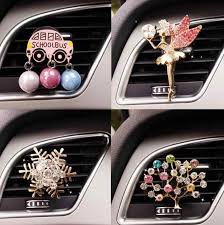 JOORMOM cute <b>cartoon</b> ballet <b>girl car</b> perfume clip air conditioning ...