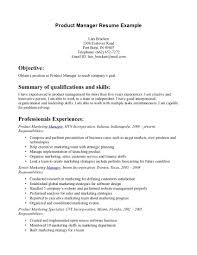 good resume objectives examples cv academic product manager gallery of sample resume objective statements for customer service