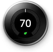 Google T3007ES <b>Nest</b> Learning <b>Thermostat</b> 3rd Generation ...