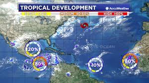 Tropical Update: Tropical Storm Melissa weakening, a <b>few</b> tropical ...